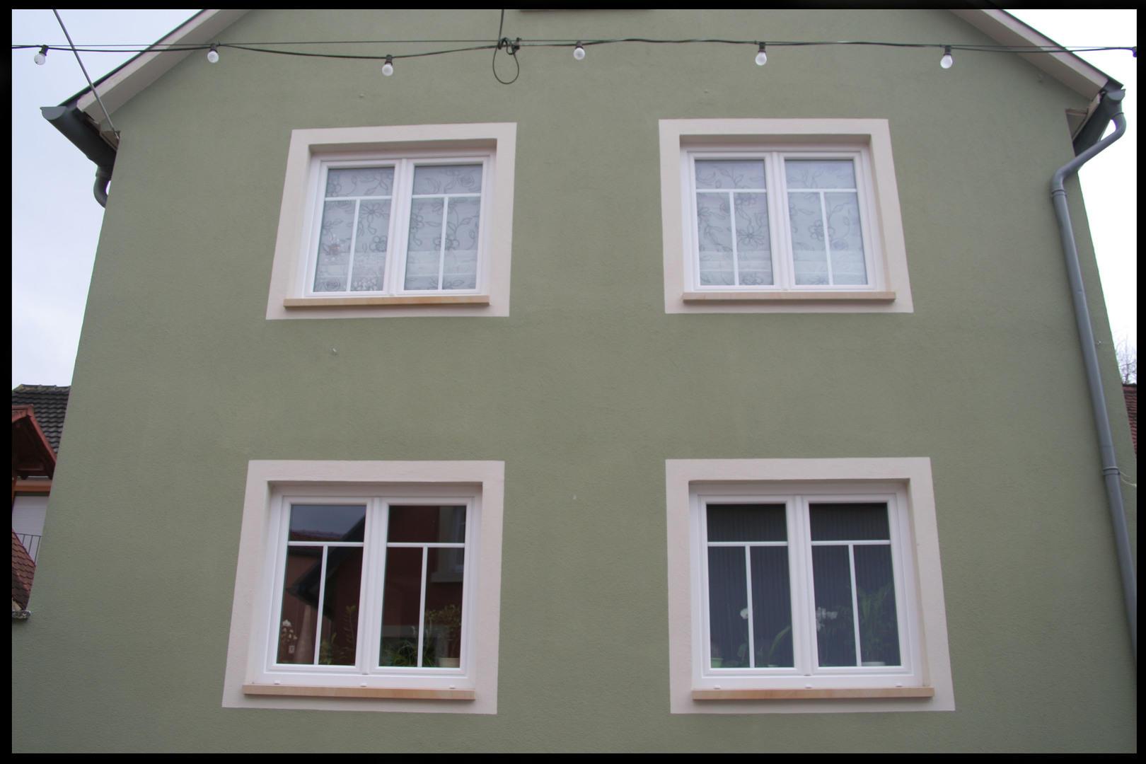 Weiße Kunststofffenster kunststofffenster fenster leistungen montage längsholz frank
